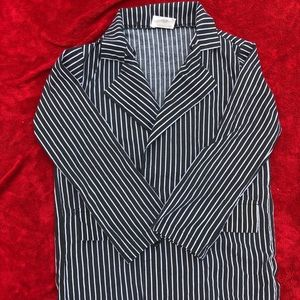 Vintage costume pin stripped blazer